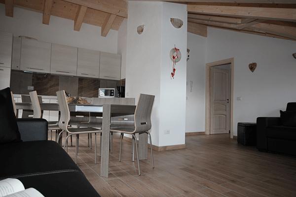 Selva Appartamento - B Prospettiva Salotto