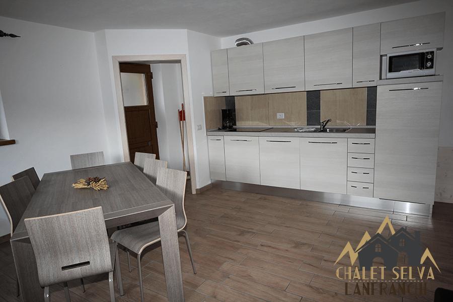Selva Appartamento C - Cucina